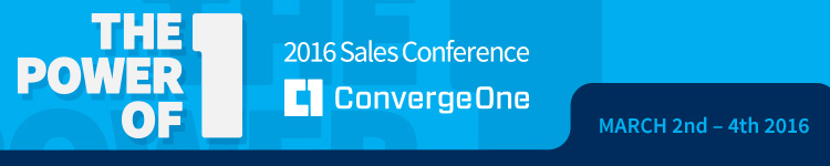ConvergeOne Sales Conference 2016