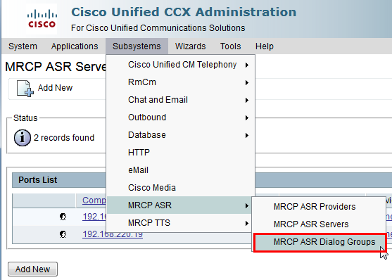 Cisco UCCX   LumenVox Knowledgebase