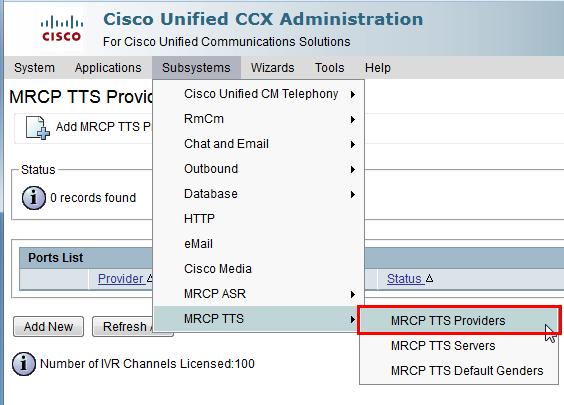 Cisco UCCX | LumenVox Knowledgebase